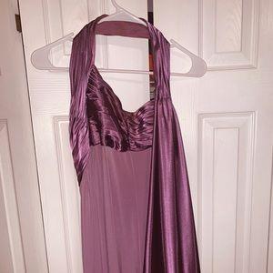 David's Bridal Bridesmaid dress in lilac Size 14